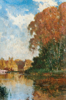 Alexey Petrovich Bogolyubov. Pond in Petrovsko-Razumovsky