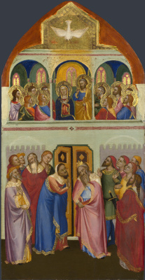 Якопо ди Чоне (и мастерская). День Святой Троицы