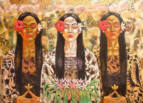 Мухаммед Арифин. Три девушки