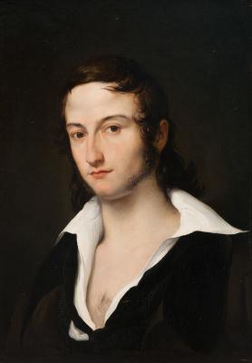 Francesco Ayets. Portrait of Carlo Della Bianca