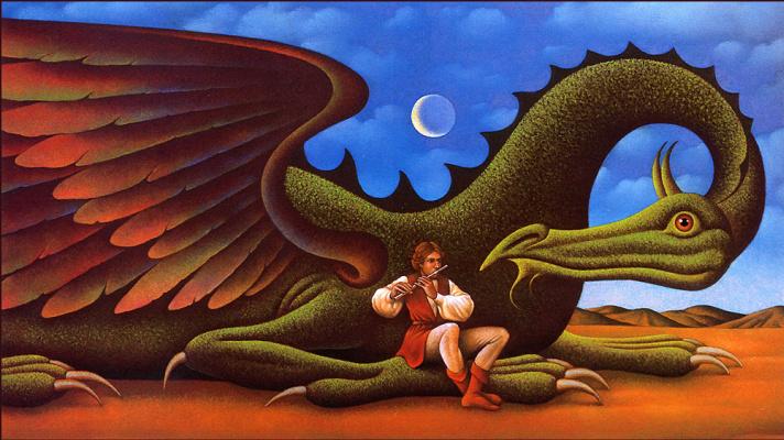 Гэри Оверакр. Дракон