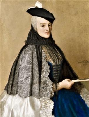 Жан-Этьен Лиотар. Портрет мадам Боре