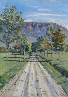 Ferdinand Hodler. Road