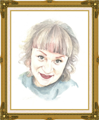Ivan Alexandrovich Dolgorukov. Portrait of a girl