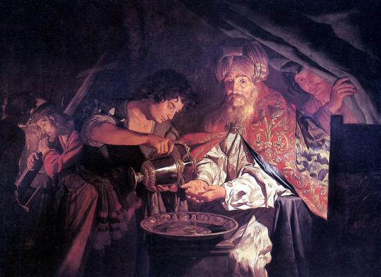 Штомер Маттиас. Пилат, умывающий руки