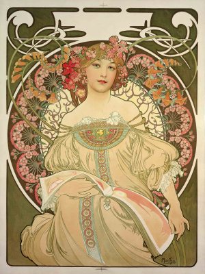 Alphonse Mucha. Dreams