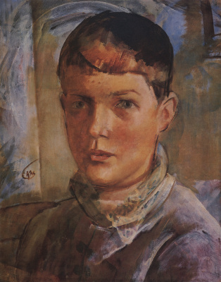 Kuzma Sergeevich Petrov-Vodkin. The artist's daughter