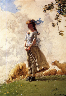 Winslow Homer. Fresh air