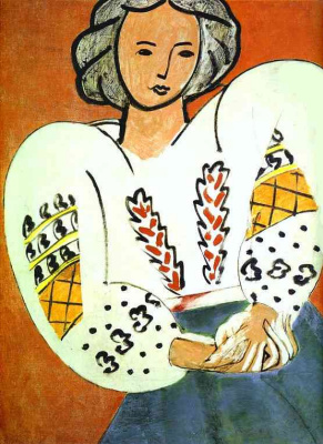 Henri Matisse. The Romanian blouse