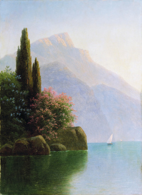 Gabriel Pavlovich Kondratenko. The seascape. Crimean coast