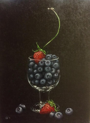 Hope Sosnovikova. Blueberry-strawberry