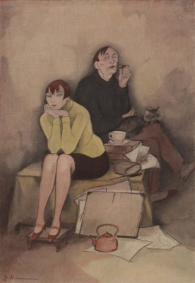 Jeanne Mammen. Miracle