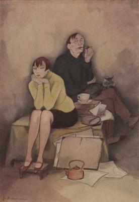 Жанна Маммен. 1928, Das Wunder (The Wonder), Simplicissimus