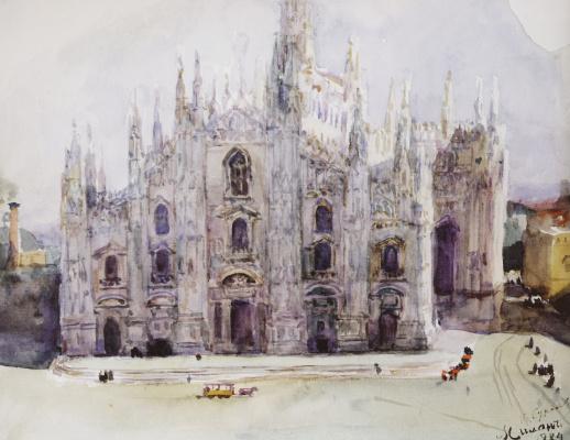 Vasily Ivanovich Surikov. Milan Cathedral