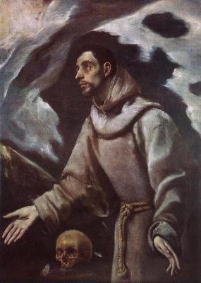 Domenico Theotokopoulos (El Greco). St. Francis
