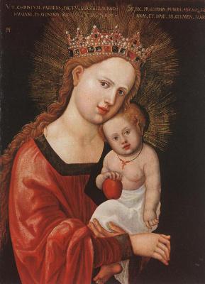 Денис Ван Алслут. Мария с младенцем