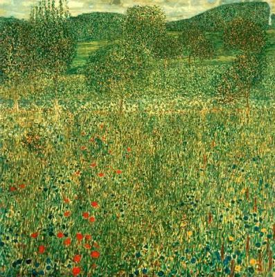 Густав Климт. Цветущие поля в Литцельберге