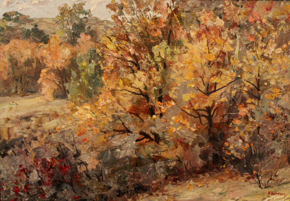 Victor Tikhonovich Karjakin. Autumn