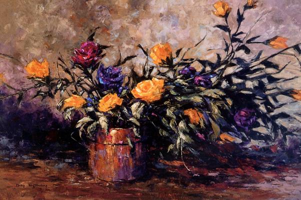 Филипп Бутендорп. Желтые розы