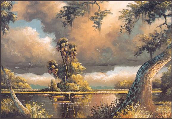 Гарольд Ньютон. Тропический пейзаж 48