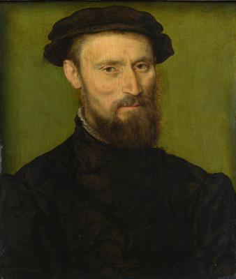 Корнель де Лион. Бюст, портрет мужчины