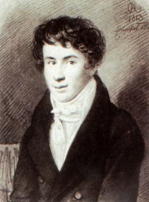 Orest Adamovich Kiprensky. Portrait of Nikita Mikhailovich Muravyev