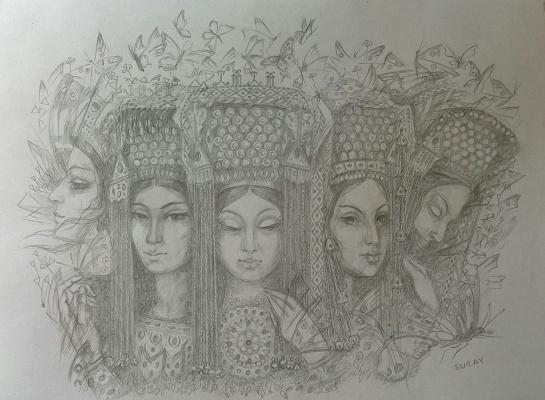 Suray Muradovna Akmuradova. Fantasy