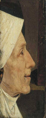 Hieronymus Bosch. The woman's head (woman's Head)