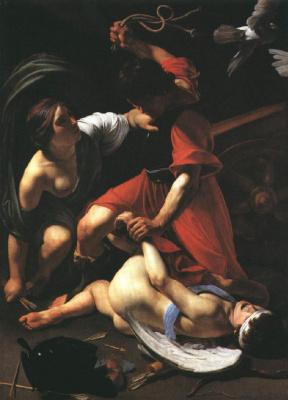Бартоломео Манфреди. Наказание Купидона