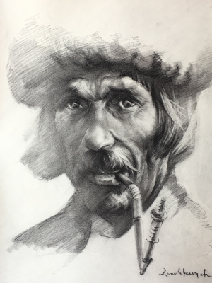 Юрий Михайлович Ивашкевич. Пастух