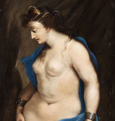 Cesari Giuseppe (Cavalier d'Arpino). Perseus and Andromeda. detail