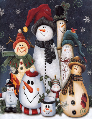 Джейми Картер. Снеговики