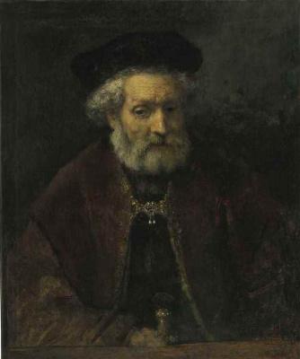 Рембрандт Харменс ван Рейн. Портрет бородатого старика