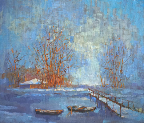 Alexander Panyukov. Frost and sun