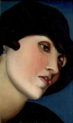 Тамара Лемпицка. Женская фигура. 1924