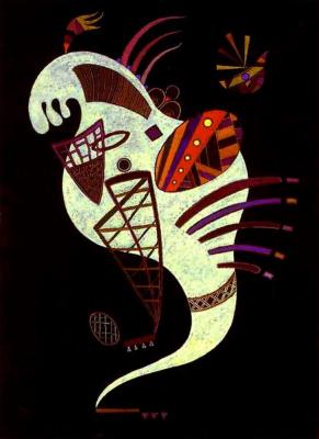 Wassily Kandinsky. White figure