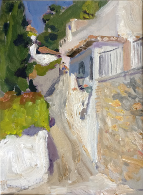 Samir Rakhmanov. Street in Granada