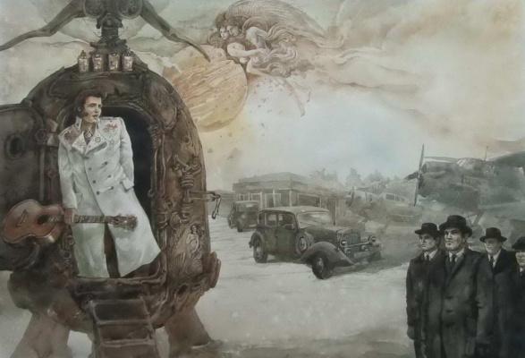Юрий Михайлович Лаптев (1962 г). Возвращение Элвиса с Венеры