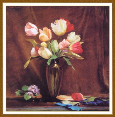 Тереза Пергал. Весенние тюльпаны