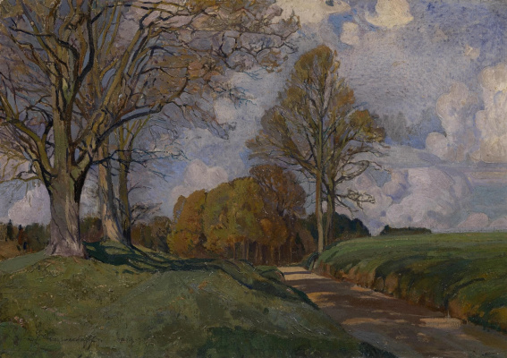 Ivan Grigorievich Myasoedov. Road from Altenkirchen, Germany