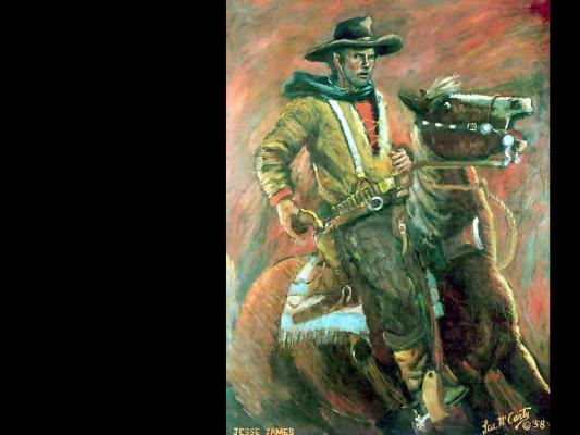 Ли Маккарти. На коне