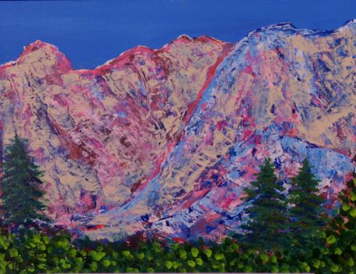 Татьяна Александровна Теребилина. Разноцветные горы