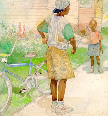 Джерри Пинкни. Велосипед