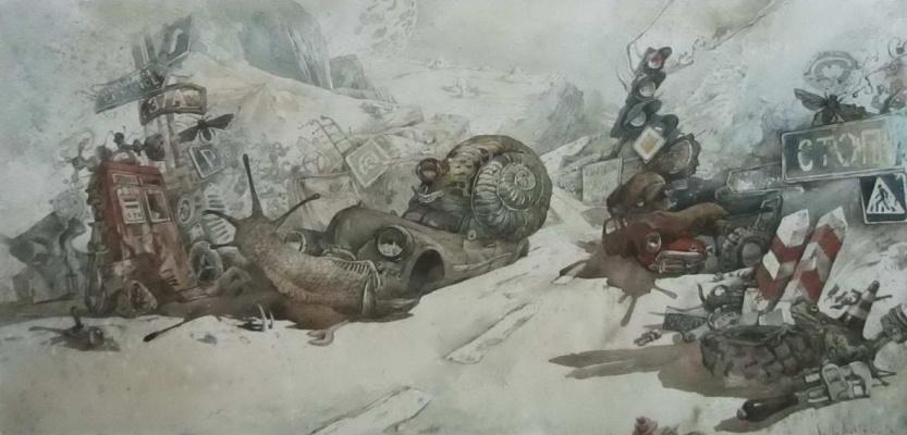 Юрий Михайлович Лаптев (1962 г). Сон Улитки в сознании спящего Гонщика