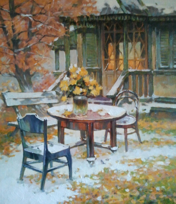 George Lapchinsky. First snow