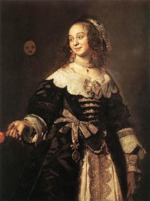 France Hals. Portrait Of Isabella Kooymans