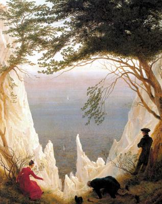 Caspar David Friedrich. Chalk cliffs on Rugen
