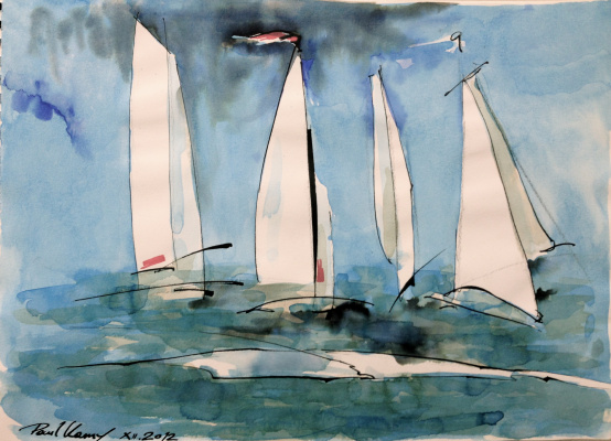 Pavel Kamyshnikau. Fun regatta