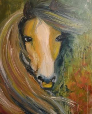 Alla Yurievna Lviv. Horse portrait