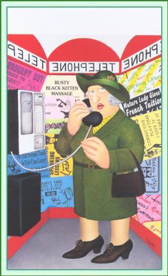 Beryl Cook. Phone
